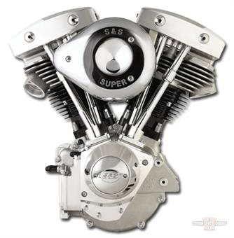 "103"" Alternator Shovelhead Engine, Natural Finish"